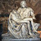 Michelangelo's Pieta by Judson Joyce