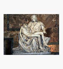 Michelangelo's Pieta Photographic Print
