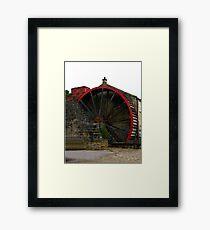 Water Wheel - Wath. Framed Print
