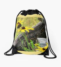 Country Meadow Drawstring Bag