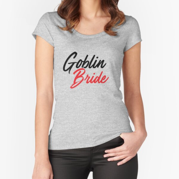 Goblin Bride K drama Fitted Scoop T-Shirt