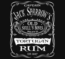 Captain Jack Sparrow's Tortugan Rum