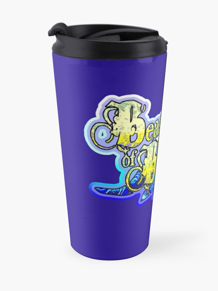 Alternate view of Beasts of Britain - Blelow Logo Travel Mug
