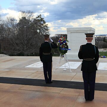 Arlington Cemetary Tomb Of The Unknown Soldier by JudsonJoyce