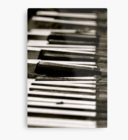 Dead Piano Metal Print