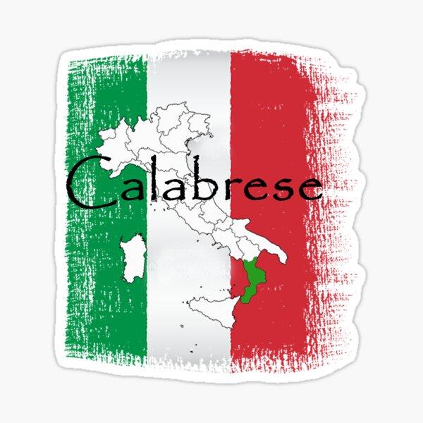 Calabrese Graphic Sticker