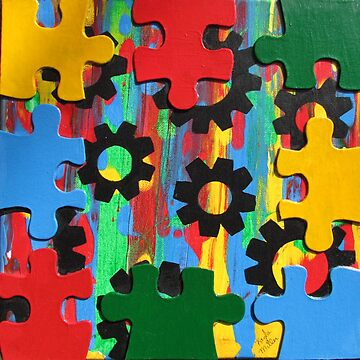 Autism Awareness by KaylaMillerArt