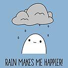 «¡La lluvia me hace más feliz!» de PikachuRox