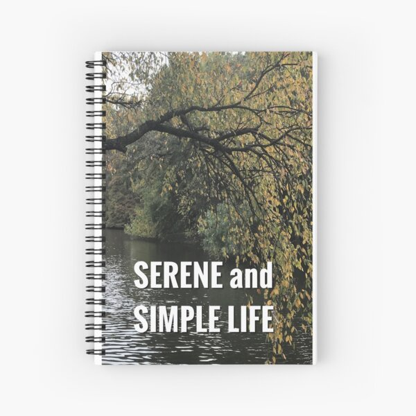 hanging tree spiral journal Spiral Notebook
