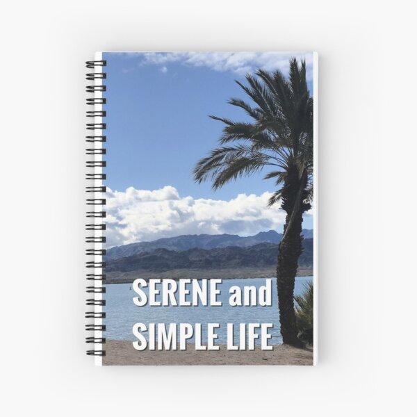 beach journal Spiral Notebook