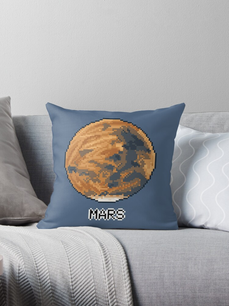 Pixel Planet - Mars by OhSweetie