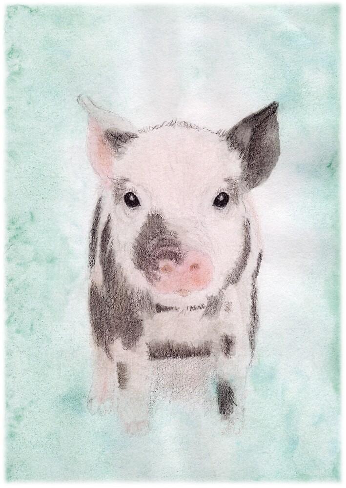Piglet by Linda Ursin