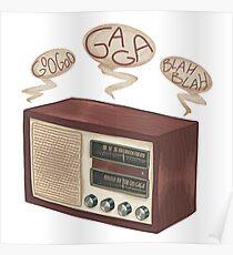 radio gaga Poster