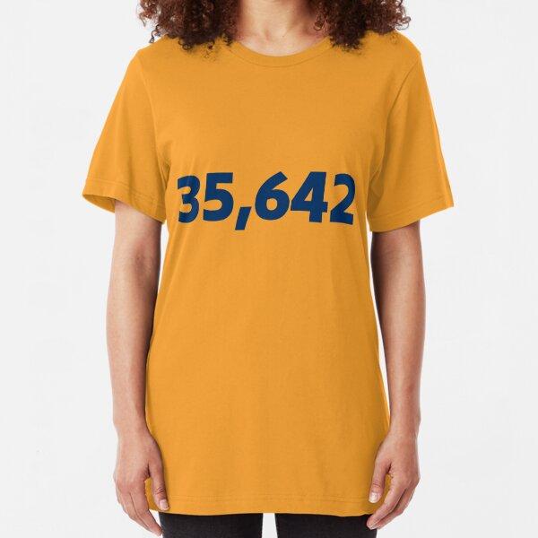 35642 - Syracuse Attendance Record Slim Fit T-Shirt Unisex Tshirt