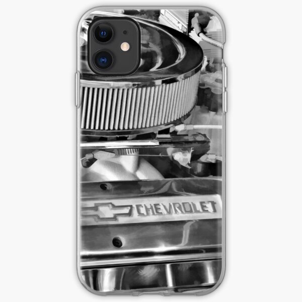 Chevy Engine iPhone Soft Case