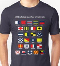Maritime Flags Unisex T-Shirt