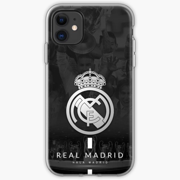 Real Madrid Escudo iPhone Soft Case