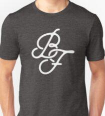 Camiseta ajustada Monograma de la bandera negra
