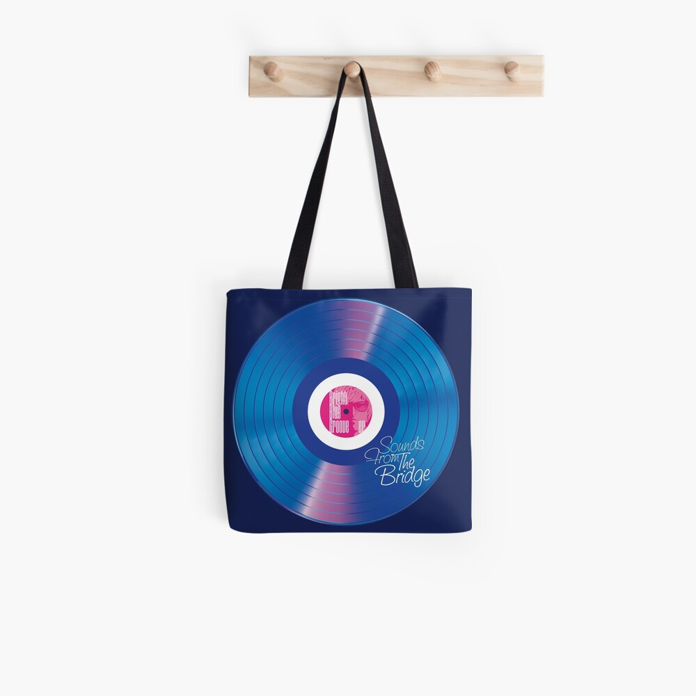 Sounds From The Bridge – Bright Blue Groove EP design Tote Bag