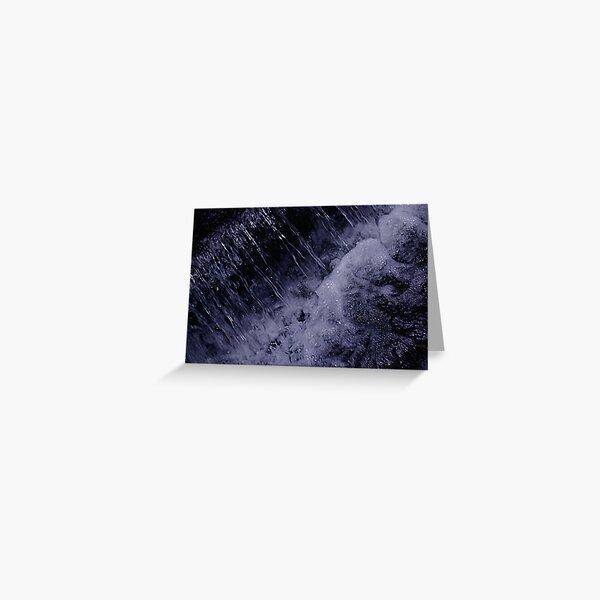 Waterfall Splendour Greeting Card