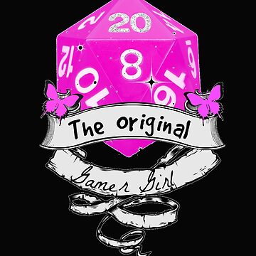 Tabletop - The Original Gamer Girl by loki13outlaw