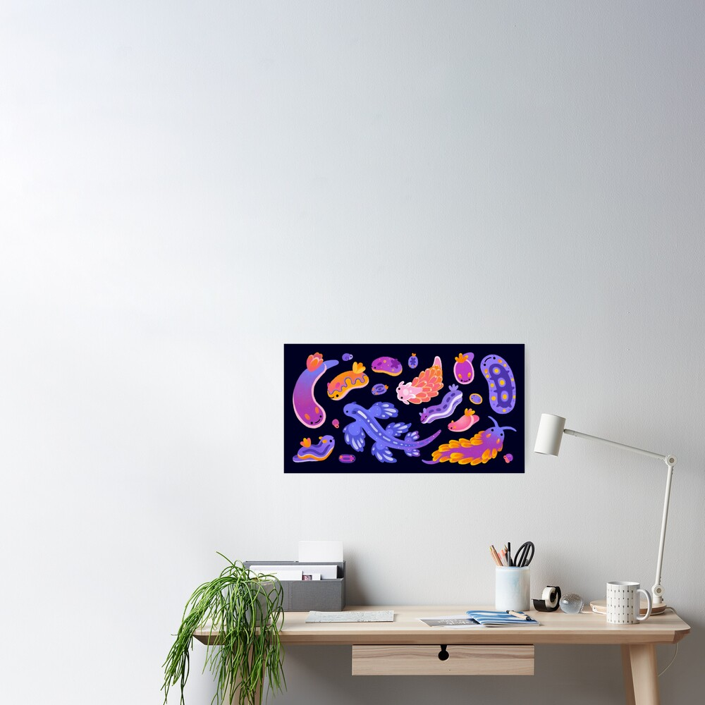 Sea slug Poster