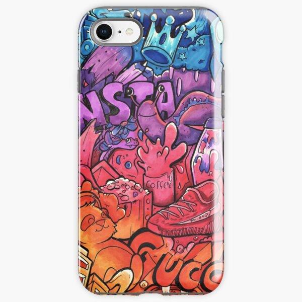 INSTAGRAM // Copic Marker Doodle Art iPhone Tough Case