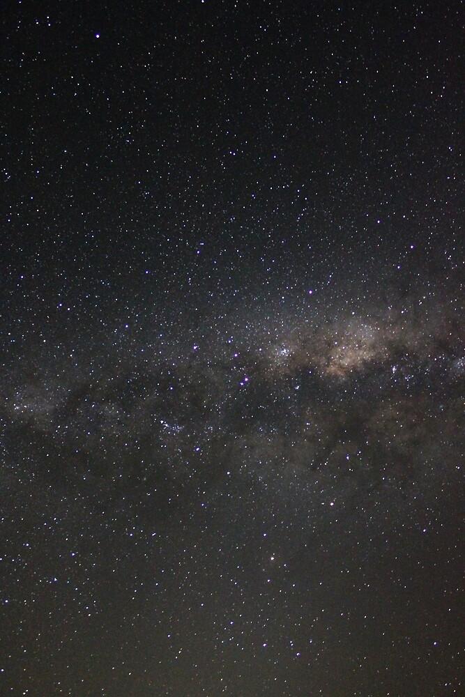Milky Way from my backyard No.2 by redda