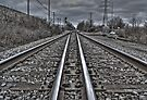 Down The Tracks - 4 by Eric Scott Birdwhistell