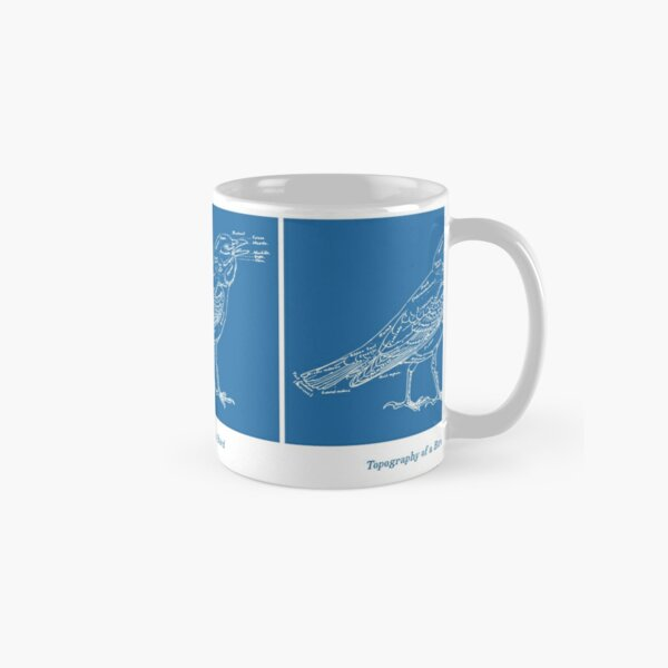 Topography of a Bird Classic Mug