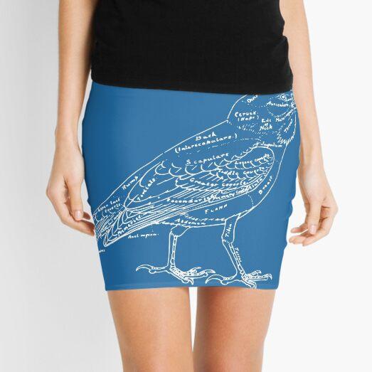 Topography of a Bird Mini Skirt