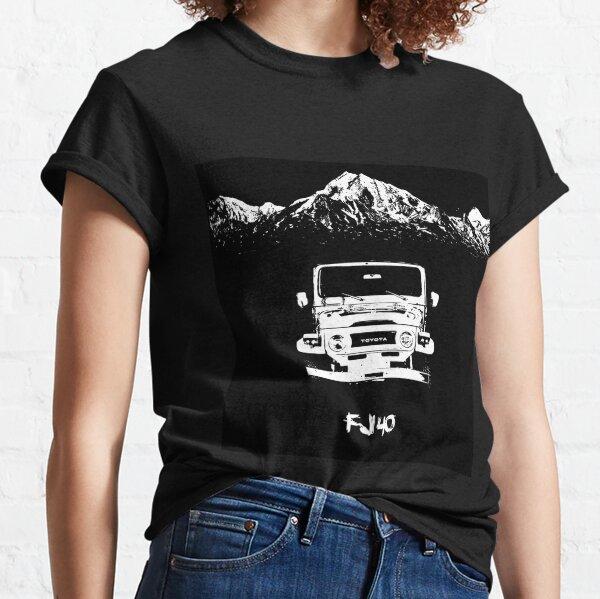 fj 40 toyota landcruiser 4wd Classic T-Shirt