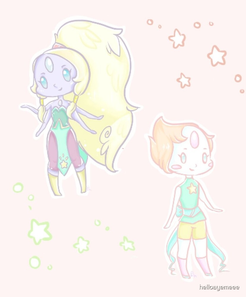 Giant Women and Pearl by helloayemeee