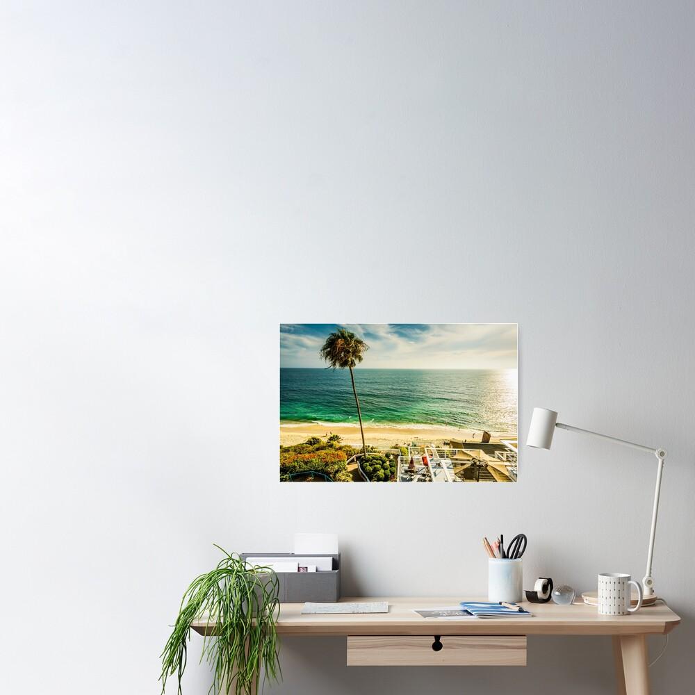 Fun Summer Laguna Beach 5530 Poster