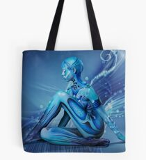 ALIEN GRACE Tote Bag