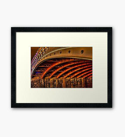 Night Under Princes Bridge Framed Print