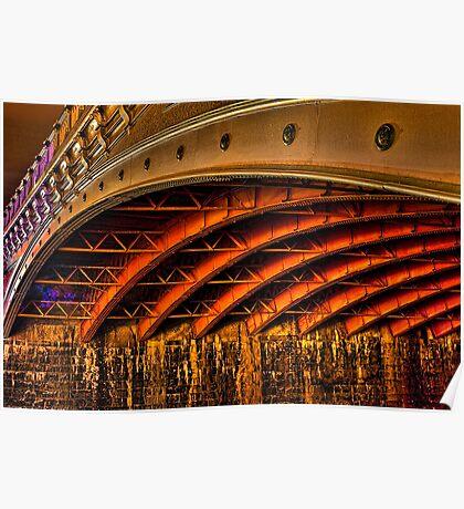 Night Under Princes Bridge Poster