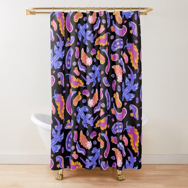 Sea slug Shower Curtain