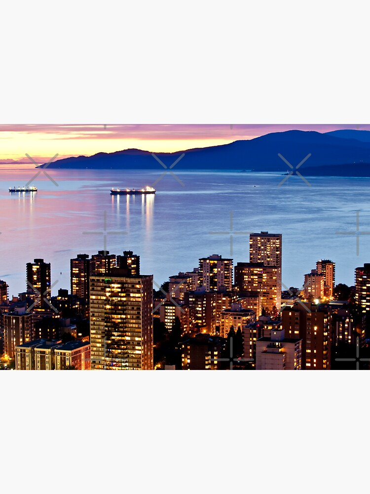 Twilight English Bay Vancouver by neptuneimages