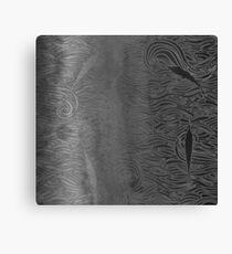 Kelly black white marlin phone case Canvas Print