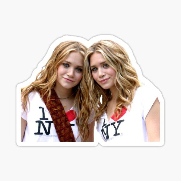 Mary Kate and Ashley I <3 NYC Sticker