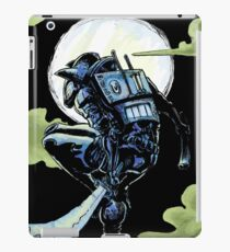 Blue - The Big Bad Wolf iPad Case/Skin