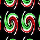 «Forma de la hoz del color, forma de la hoz del color Cuting» de Fender0815