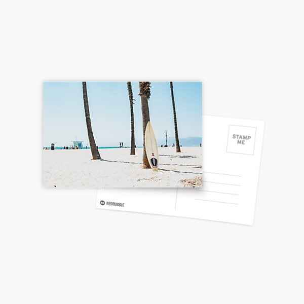 Surf on the beach Postcard