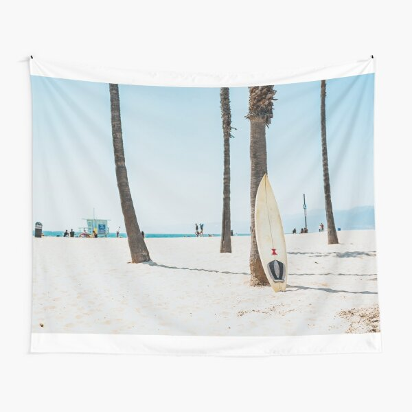 Surf on the beach Tapestry