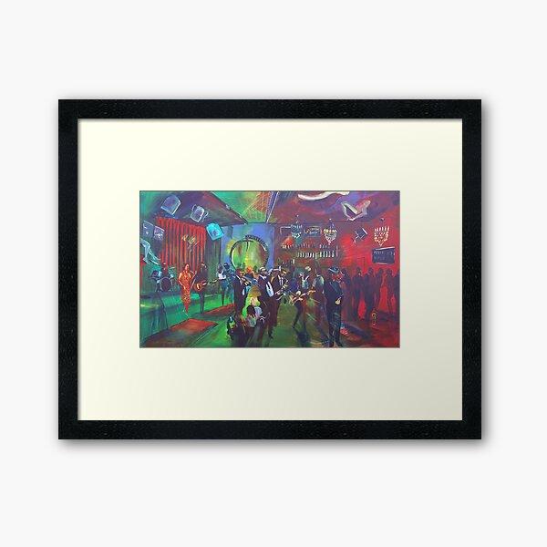 Lazybones Lounge - Sydney - the Fever Pitch Framed Art Print