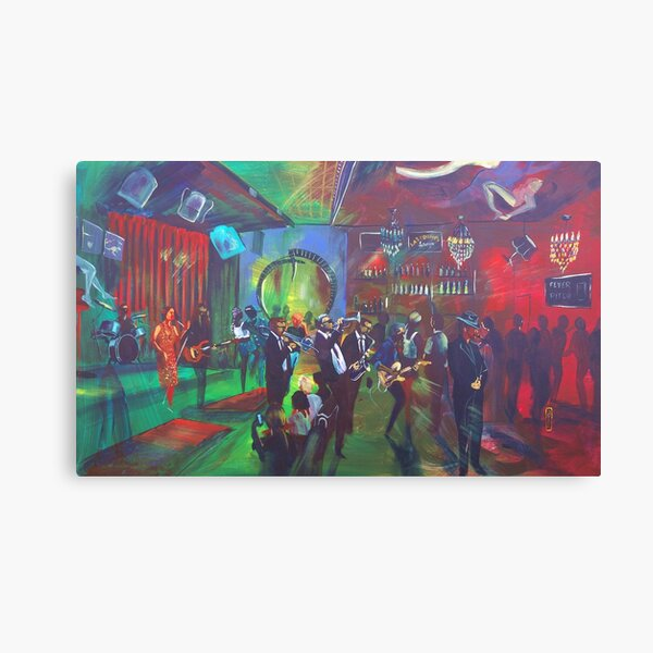 Lazybones Lounge - Sydney - the Fever Pitch Canvas Print