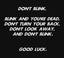 Blink Doctor Who