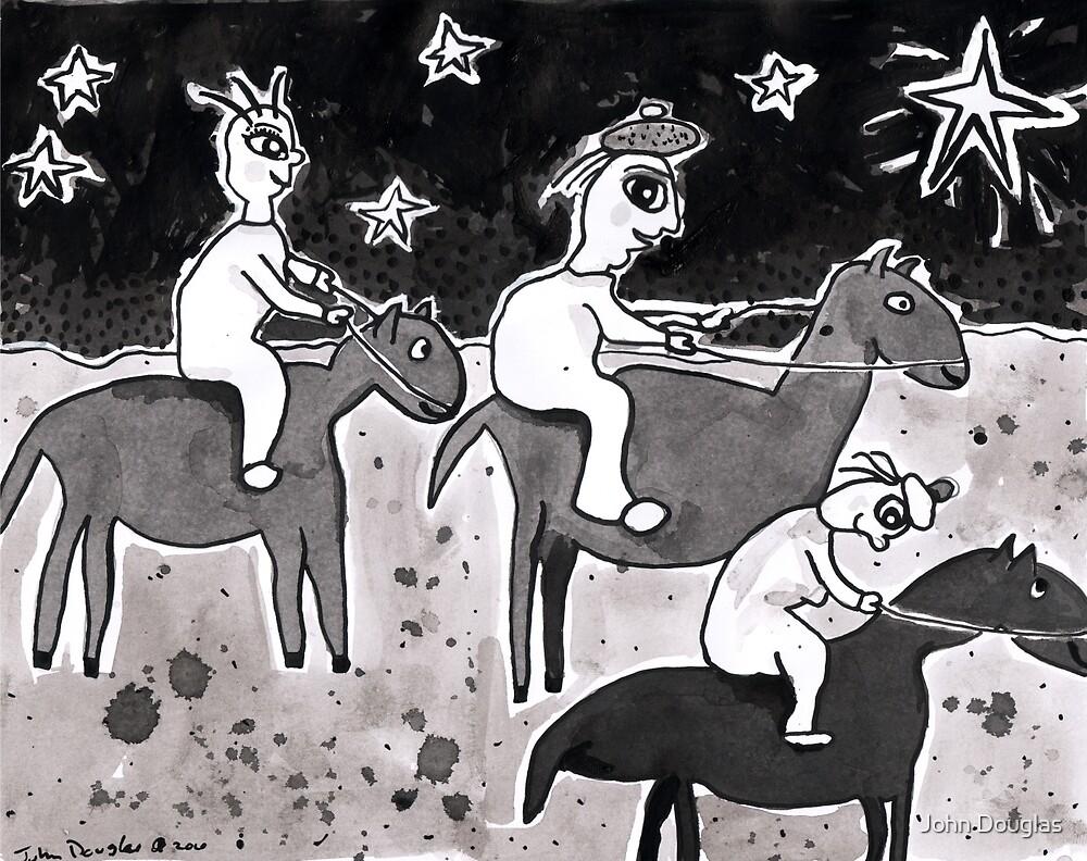 The Three Wise Lesbians Follow Their Star by John Douglas