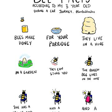 Bee Facts by twisteddoodles